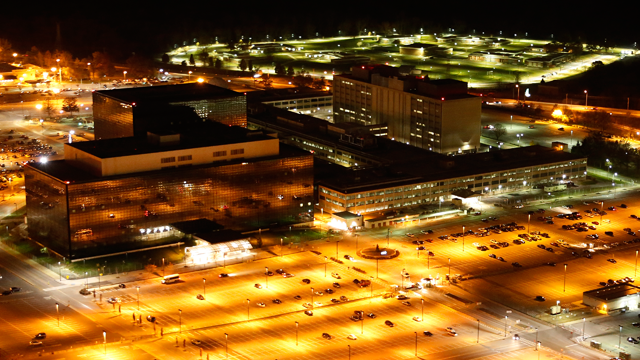 Aerial photograph of the National Security Agency. Commissioned by Creative Time Reports, 2013.  (Photo: Trevor Paglen/flickr CC 2.0)