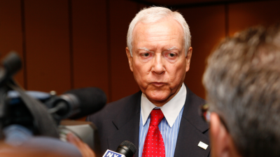 Senator Orrin Hatch one of the three authors of Republican's Patient CARE Act . (Photo: Be the Change, Inc./flickr CC 2.0)
