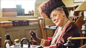 The Dowager Countess from PBS's 'Downton Abbey'