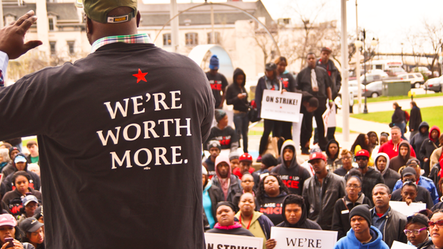 Milwaukee's fast food worker's strike in May 2014. (Photo: Light Brigading/flickr CC 2.0)