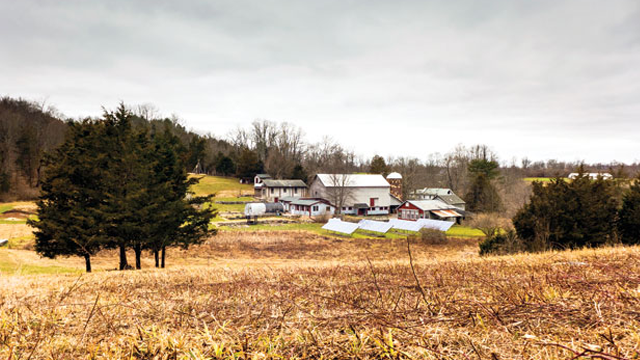 Genesis Farm, an environmental learning center and working biodynamic farm grounded in the vision of Thomas Berry. (Photo: Stephen O'Byrne / YES!)