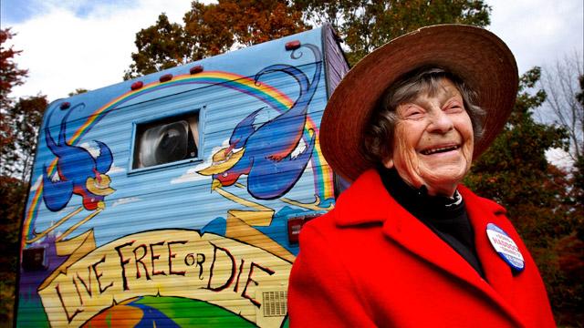 Granny D smiling