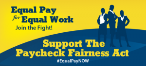paycheck fairness poster