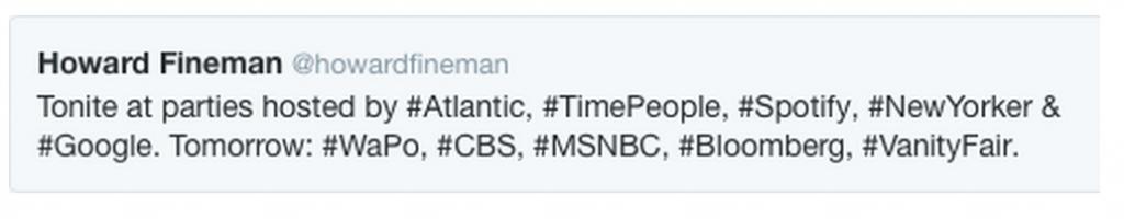 Howard Fineman tweet