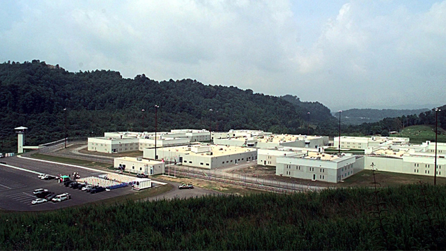 The Red Onion Prison in Pound, Virginia. (Photo by Don Long/AP)