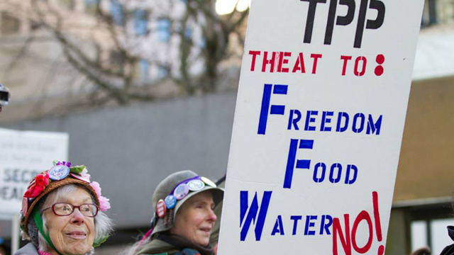 TPP with Raging Grannies