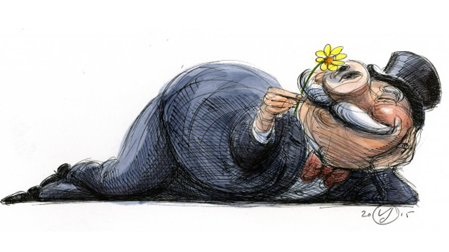 The Political Roots of Widening Inequality. (Art: Victor Juhasz)