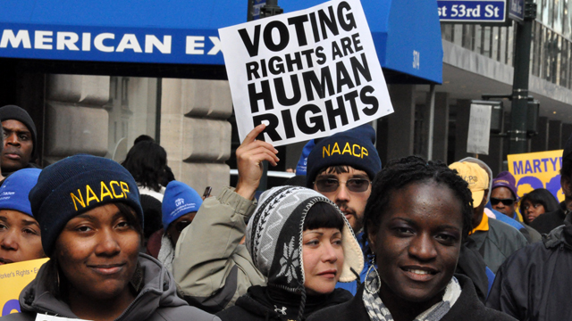 voting right, right to vote, NAACP