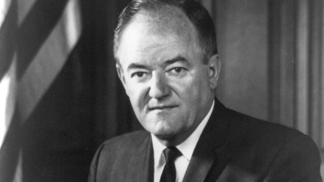 """""""Official Photograph"""" of Hubert H. Humphrey as Vice President of the United States of America"""