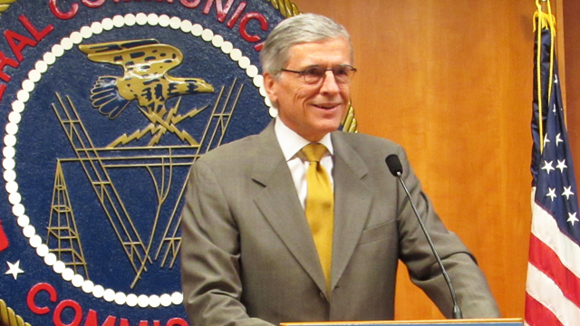 Tom Wheeler FCC Chair (Photo: FCC Flickr/Government works)
