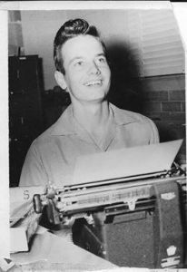Bill Moyers as cub reporter