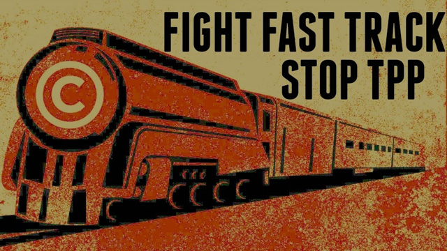 Common Dreams Fight Fast Track; Stop TPP graphic