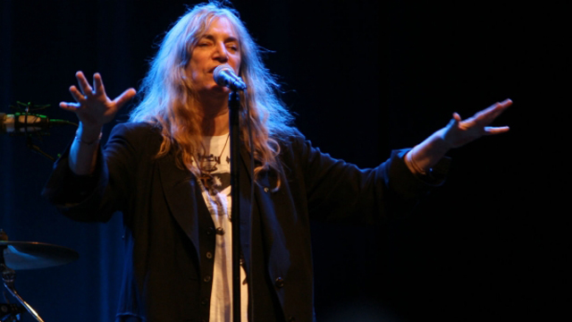 Patti Smith, live at Liseberg, Göteborg, July 30 2014 (Credit: Blondinrikard Fröberg)
