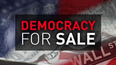 Democracy For Sale graphic