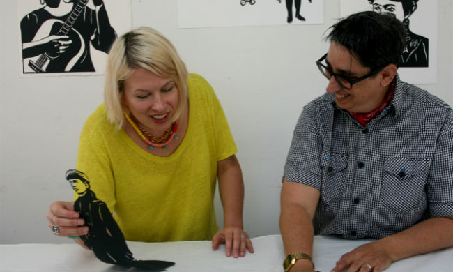 Photo of Kate Schatz and Miriam Klein Stahl by Lena Wolff.