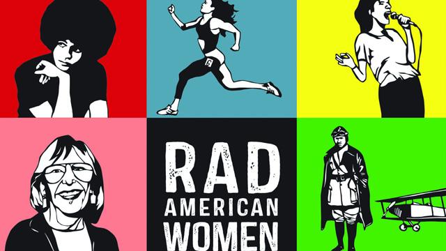 Rad American Women book cover image