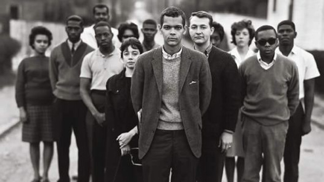Julian Bond and members of the SNCC in 1963.
