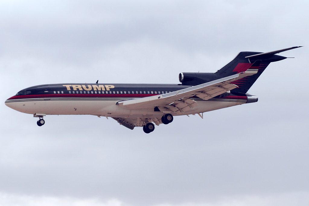 This is Donald Trump's personal jet. (Credit: Andrew Cohen / Flickr CC 2.0)