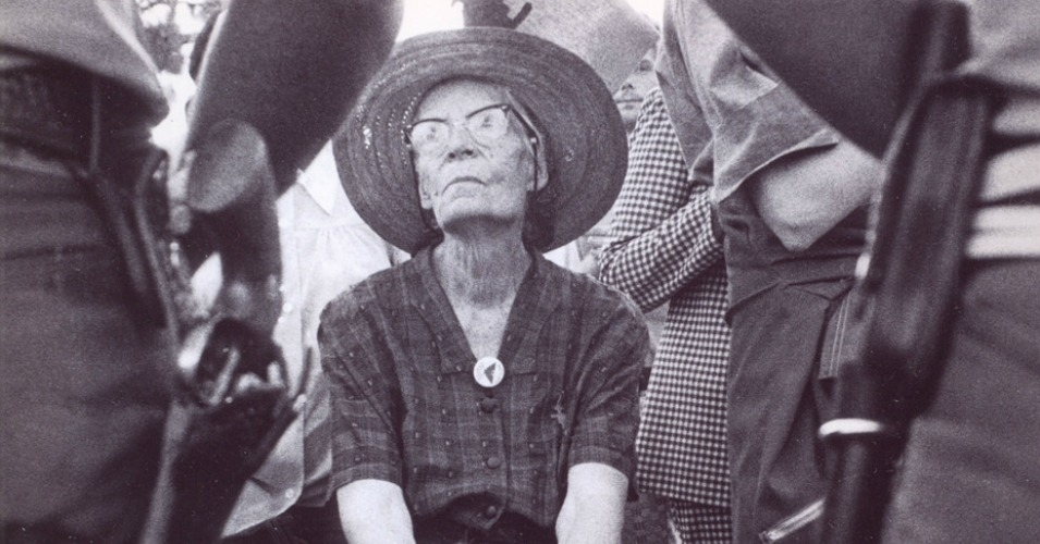'Much as the legacies and lives of Martin Luther King and Rosa Parks have been historically revised and sanitized,' explains Scahill, 'so too are the lives of Dorothy Day and Thomas Merton.' (Photo: Archive/via miriampawel.com)