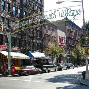 Greenwich Village (Credit: Mike Fleming, Flickr CC 2.0)