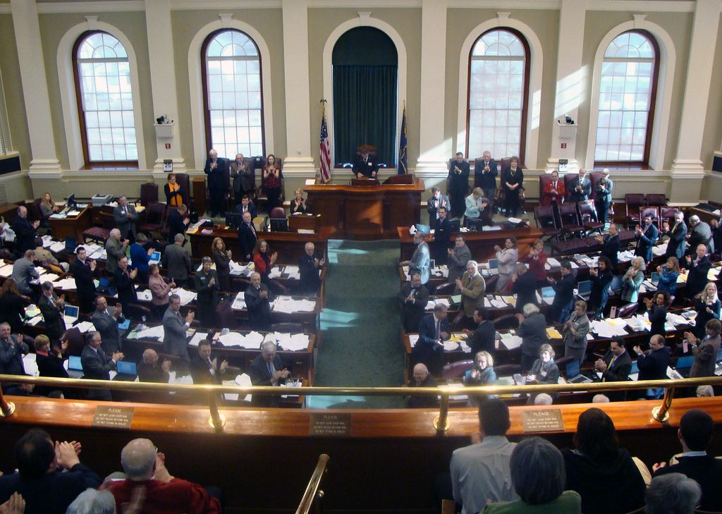 The Maine House of Representatives in 2009. (Photo Credit: France in New England via Compfight cc)