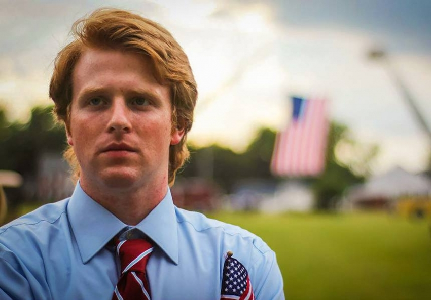 Zachary Werrell is on a mission to purge the Republican Party of moderates (Holden Boyles)