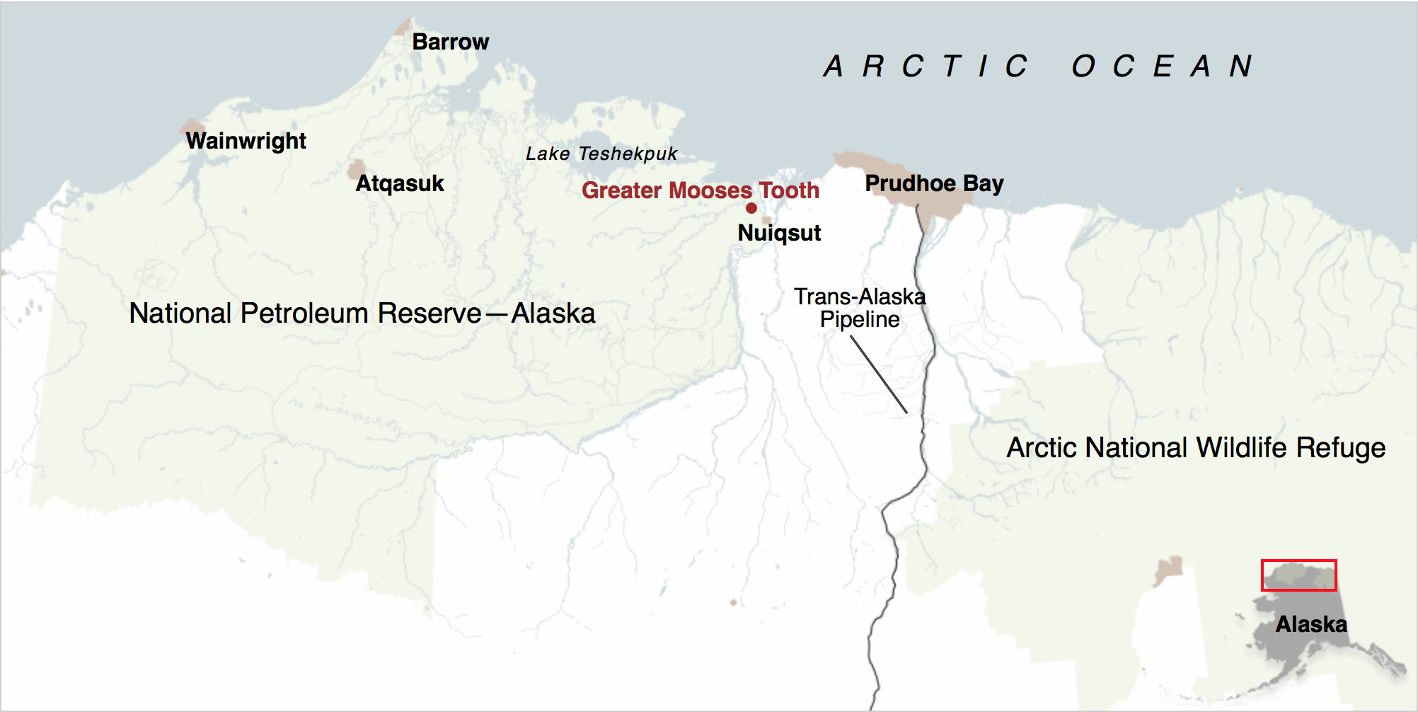 At 23 million acres, the National Petroleum Reserve-Alaska is even larger than the better-known Arctic National Wildlife Refuge. It is home to one of world's largest caribou herds and huge flocks of migratory birds.