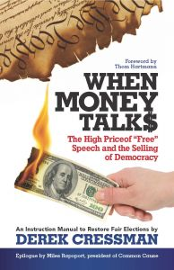 When Money Talks By Derek Cressman book jacket