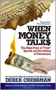 'When Money Talks' by Derek Cressman book jacket