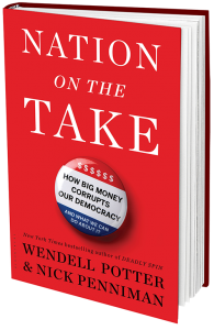 'Nation on the Take' book jacket; Published by Bloomsbury Press, March 1, 2016.