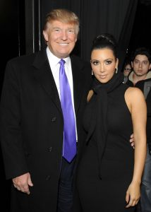 Television Personality Donald Trump & Kim Kardashian attend the Celebration of Perfumania and Kim Kardashian's appearance on NBC's 'The Apprentice' on Wednesday, November 10, 2010 at the Provocateur in New York City.