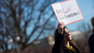 Some House Democrats have begun pushing to provide the Social Security program with more funding. (Photo by Allison Shelley/Getty Images)