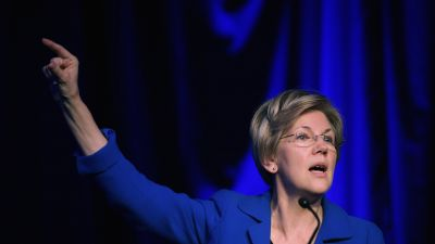 Sen. Elizabeth Warren in April, 2015. (Photo by Chip Somodevilla/Getty Images)