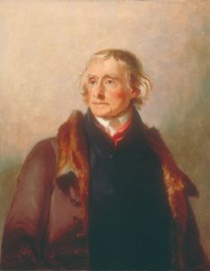 Even Thomas Jefferson, seen here in a portrait by Thomas Sully, hired someone to run a negative campaign against his political opponents. (Image courtesy of Thomas Jefferson's Monticello)