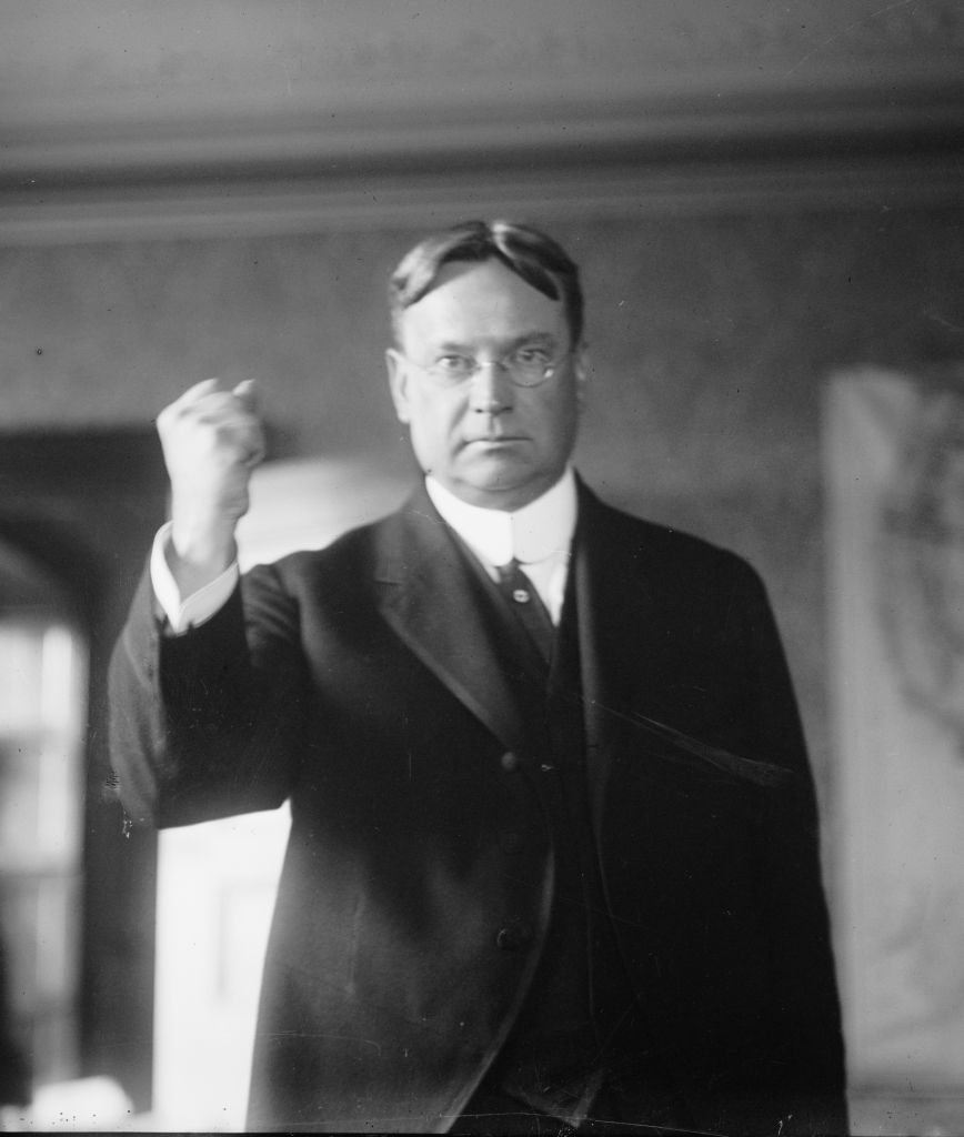 Hiram Johnson, governor of California from 1911-17. (Library of Congress)