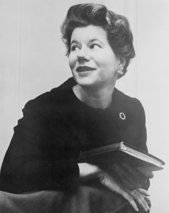 Portrait of Mary McGrory
