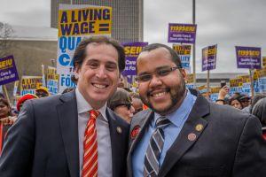 State Sen. Todd Kaminsky And Assemblymember Victor M. Pichardo