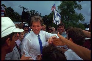 David Duke at rally