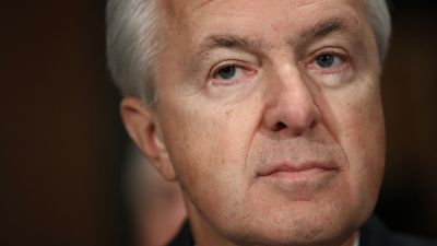 John Stumpf, chairman and CEO of Wells Fargo, testifies before the Senate Banking, Housing and Urban Affairs Committee on Sept. 20, 2016 in Washington, DC. (Photo by Win McNamee/Getty Images)