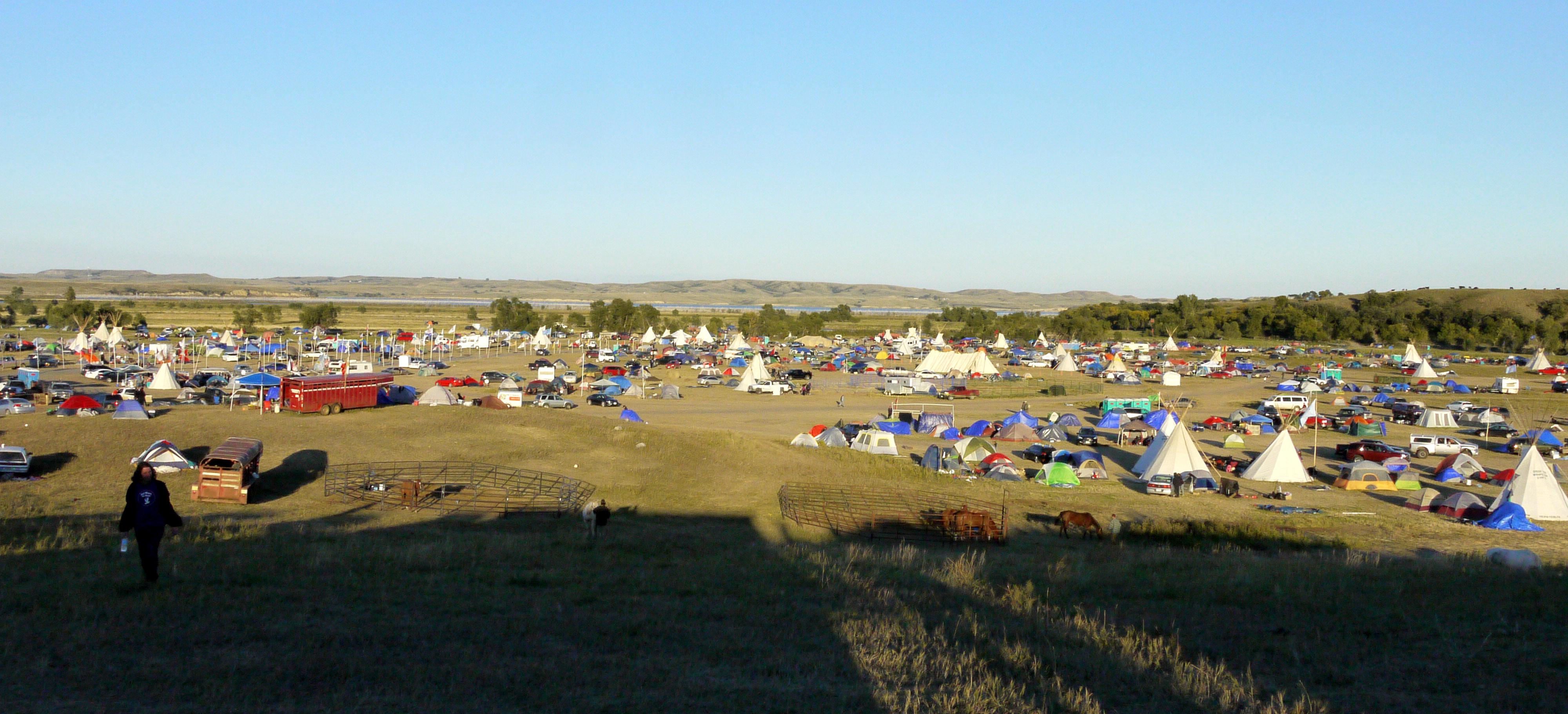 Oceti Sakowin camp, Sept. 14, 2016. (Sarah Jaffe for BillMoyers.com)