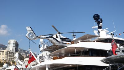 Luxury Yachts At The 2016 Monaco Yacht Show