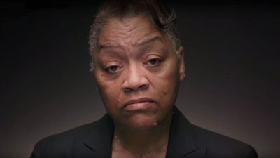 """Venida Browder, mother of Kalief Browder, from a video she recorded as part of The Marshall Project's """"We Are Witnesses"""" video series in 2015."""