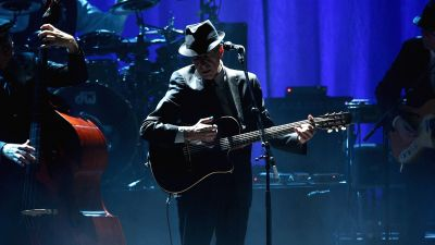 Leonard Cohen Performs at the Beacon Theatre