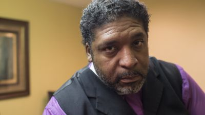 North Carolina NAACP President, Reverend William J. Barber, 52, poses for a portrait in Raleigh, North Carolina, on Thursday, January 21, 2016. Barber is a vocal spokesman against the State of North Carolina's controversial voter identification law. (Photo by Nikki Kahn/The Washington Post via Getty Images)