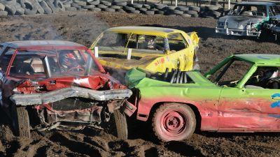 Demolition Derby in Fairview, Utah, in 2008. (Photo by Eric Ward/ flickr CC 2.0)