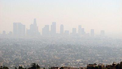 Los Angeles smog, September 2006. (Photo by Ben Amstutz, Flickr CC 2.0)