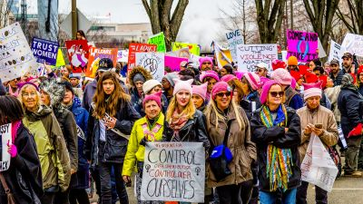 A view of the Women's March in Washington, DC on Jan. 21, 2017. (Photo by Timothy Krause/ flickr CC 2.0)