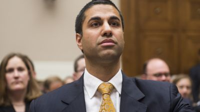 FCC commissioner Ajit V. Pai testifies during the House Energy and Commerce Committee Communications and Technology Subcommittee hearing on oversight of the Federal Communications Commission on Tuesday July 10, 2012. (Photo By Bill Clark/CQ Roll Call)