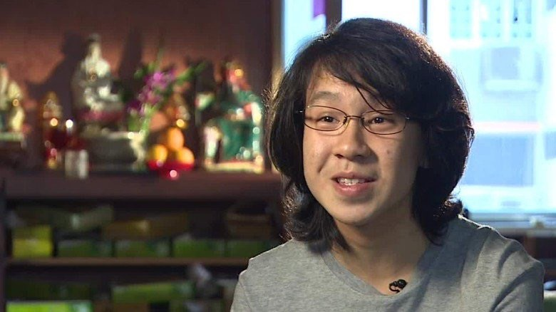 Singaporean blogger Amos Yee, who has been granted asylum in the United States.