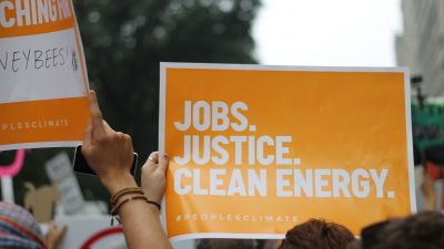People's Climate March in New York City in 2014. (Photo by Elizabeth Stilwell/ flickr CC 2.0)